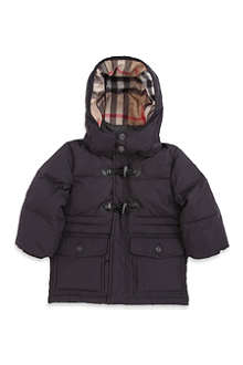 BURBERRY Hooded padded jacket 3 months - 3 years