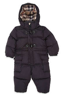 BURBERRY Padded snowsuit 3 months-2 years