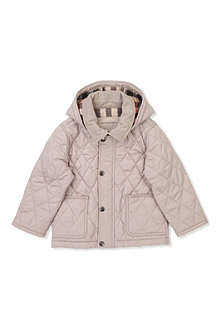 BURBERRY Hooded jacket 3 months-3 years