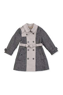 BURBERRY Contrast trench 0-3 years