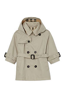 BURBERRY Double-breasted trench coat 6 months- 3 years