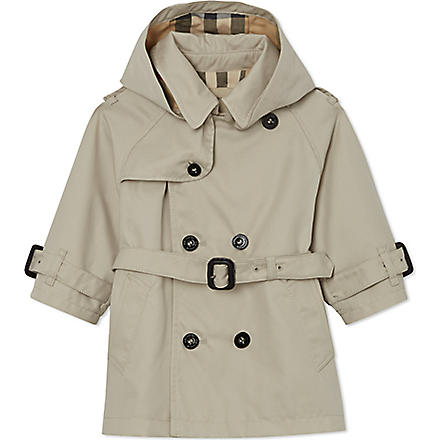 BURBERRY Double-breasted trench coat 6 months- 3 years (Trench