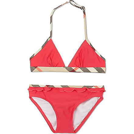 BURBERRY Nova check bikini 4-14 years (Pink