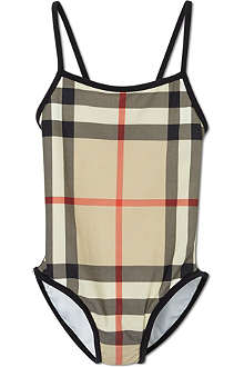 BURBERRY Nova check swimsuit 4-14 years