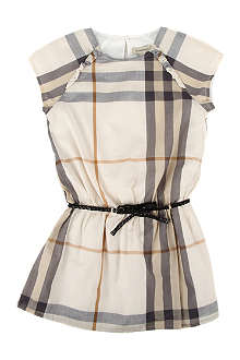 BURBERRY Checked dress 4-14 years