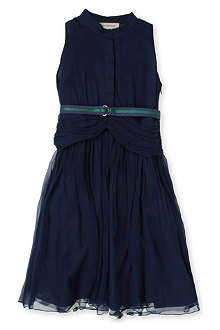 BURBERRY Silk-crepe dress 4-8 years