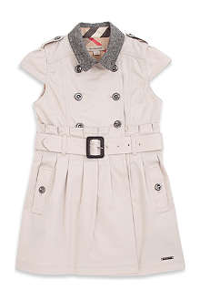 BURBERRY Trench coat with belt 4-14 years