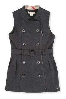 BURBERRY Double-breasted buttoned dress 4-8 years