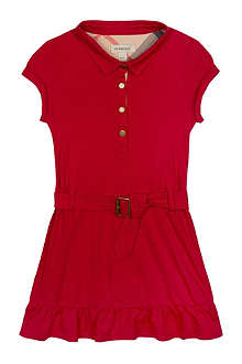 BURBERRY Nova collar jersey dress 4-14 years