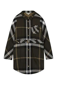 BURBERRY Exploded check shirt dress 4-14 years