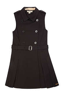 BURBERRY Sleeveless trench dress 4-14 years