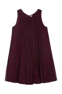 BURBERRY Silk pleated dress 4-14 years