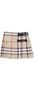 BURBERRY Checked skirt 4-14 years