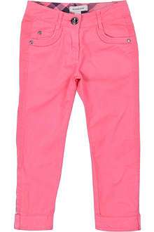 BURBERRY Coloured trousers 4-14 years