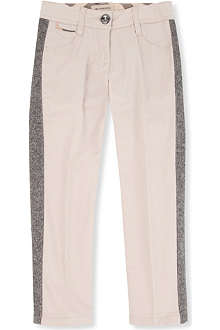 BURBERRY Tweed detail trousers 4-14 years