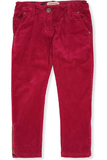 BURBERRY Needlecord trousers 4-14 years