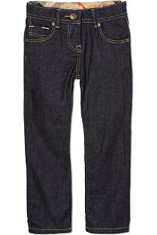 BURBERRY Dark wash classic jeans 4-14 years