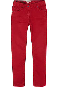 BURBERRY Slim coloured jeans 4-14 years