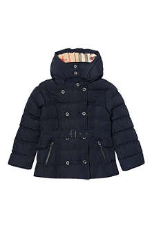 BURBERRY Belted puffer jacket 4-14 years