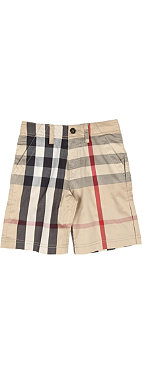 BURBERRY Checked shorts 12-14 years