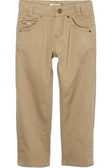 BURBERRY Five pocket chinos 4-14 years