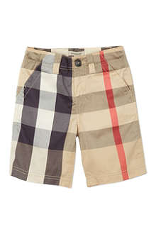 BURBERRY Classic check shorts 4-14 years