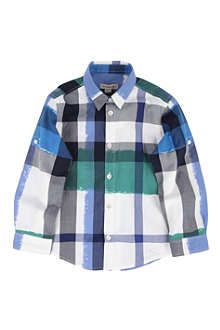BURBERRY Checked shirt 4-14 years