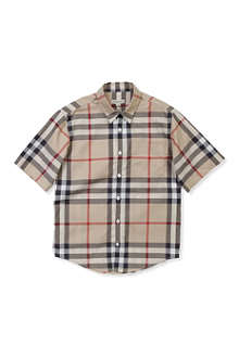 BURBERRY Nova classic check shirt 4-14 years