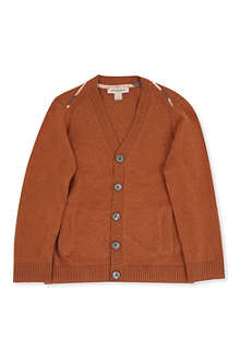 BURBERRY Shoulder trim cardigan 4-14 years