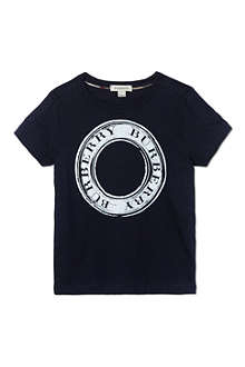 BURBERRY Circle logo t-shirt 4-14 years