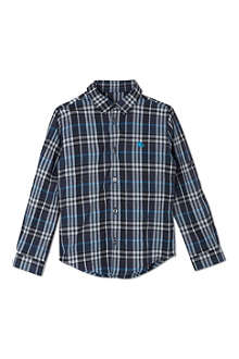 BURBERRY Checked long sleeved shirt 4-14 years