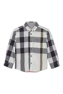 BURBERRY Exploded check shirt 4-14 years