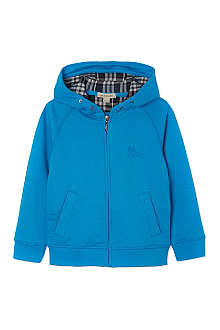 BURBERRY Zipped hooded jacket 4-14 years