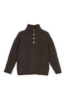 BURBERRY Cable knit jumper 4-14 years