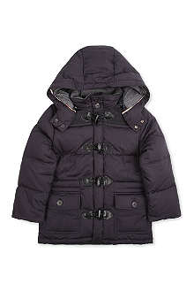 BURBERRY Hooded toggle padded jacket 4-14 years