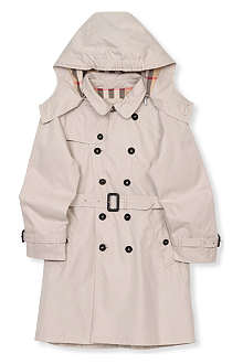 BURBERRY Nova check classic trench 4-14 years