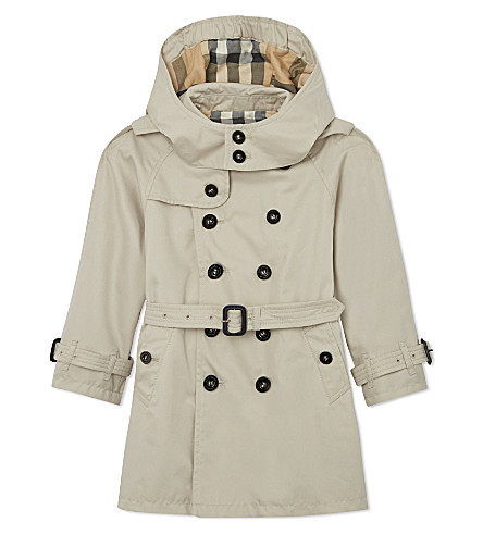 BURBERRY Double-breasted trench coat 4-14 years (Trench