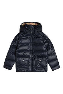 BURBERRY Hooded puffer jacket 4-14 years