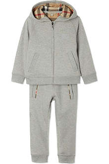 BURBERRY Hooded tracksuit set 4-14 years