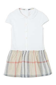 BURBERRY Peter Pan collar Nova dress 1-18 months