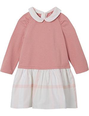 BURBERRY Check skirt dress 1-18 months