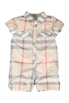 BURBERRY Short all-in-one 1-9 months