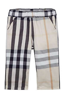 BURBERRY Exploded check trousers 1-18 months