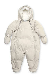 BURBERRY Hooded zip front snowsuit 1-18 months