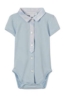 BURBERRY Check collar babygrow 1-9 months