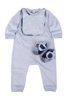 BURBERRY Three-piece set 1-9 months