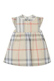 BURBERRY Nova checked dress 1-18 months