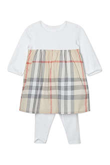BURBERRY Nova dress with leggings 1-18 months