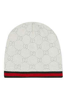 GUCCI Logo-detailed hat