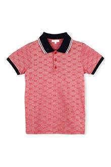 GUCCI Plique polo shirt 4-12 years